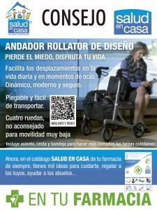 Andador Rollator de diseño